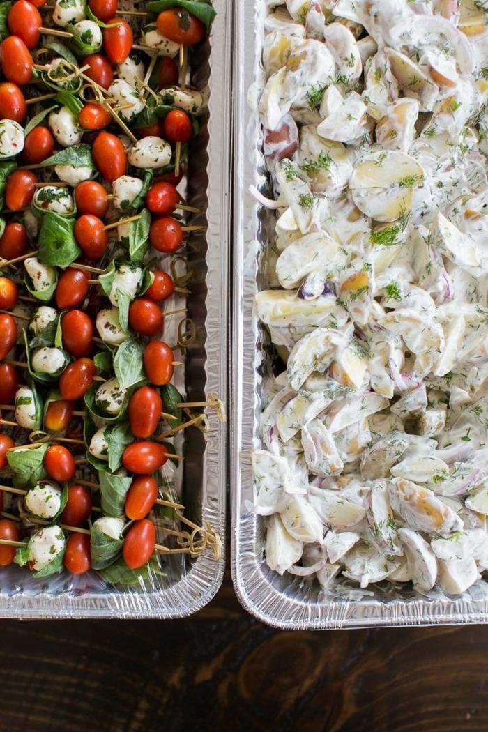 buffet-ideen-zwei-interessante-speisen