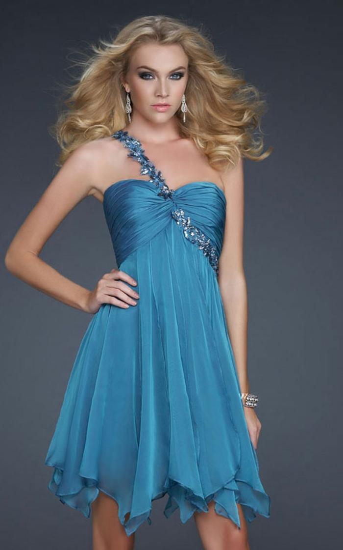 40 unglaubliche Modelle Cocktailkleid in Blau! - Archzine.net