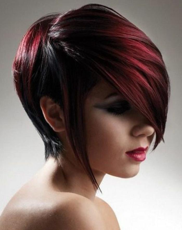Dunkelrote Haare Wirken Besonders Charmant Archzine Net