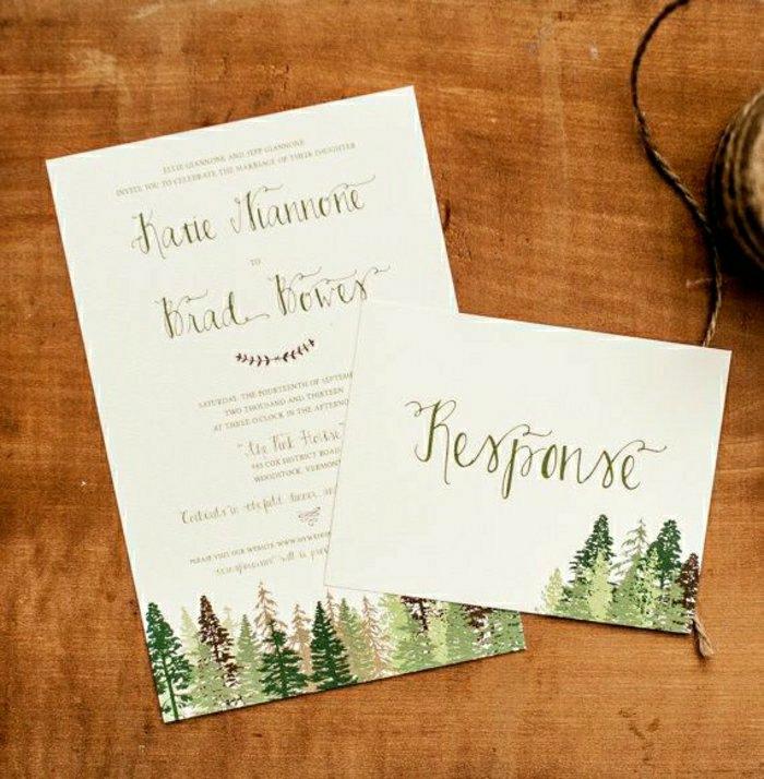 51 Originelle Designs Von Hochzeitseinladungen   Archzine, Einladungs