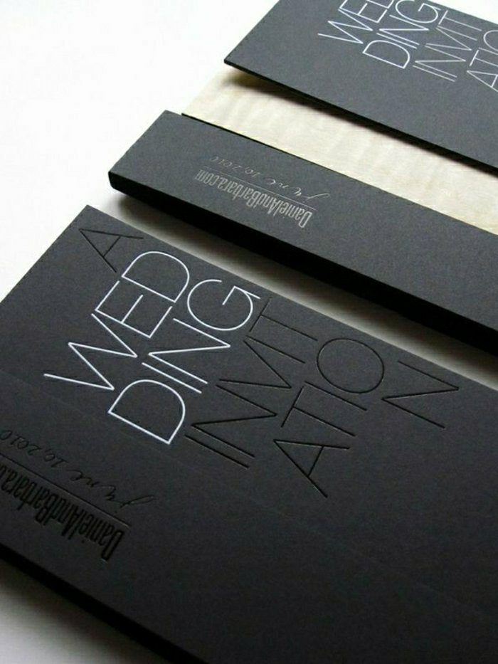 51 originelle designs von hochzeitseinladungen - archzine, Einladungsentwurf