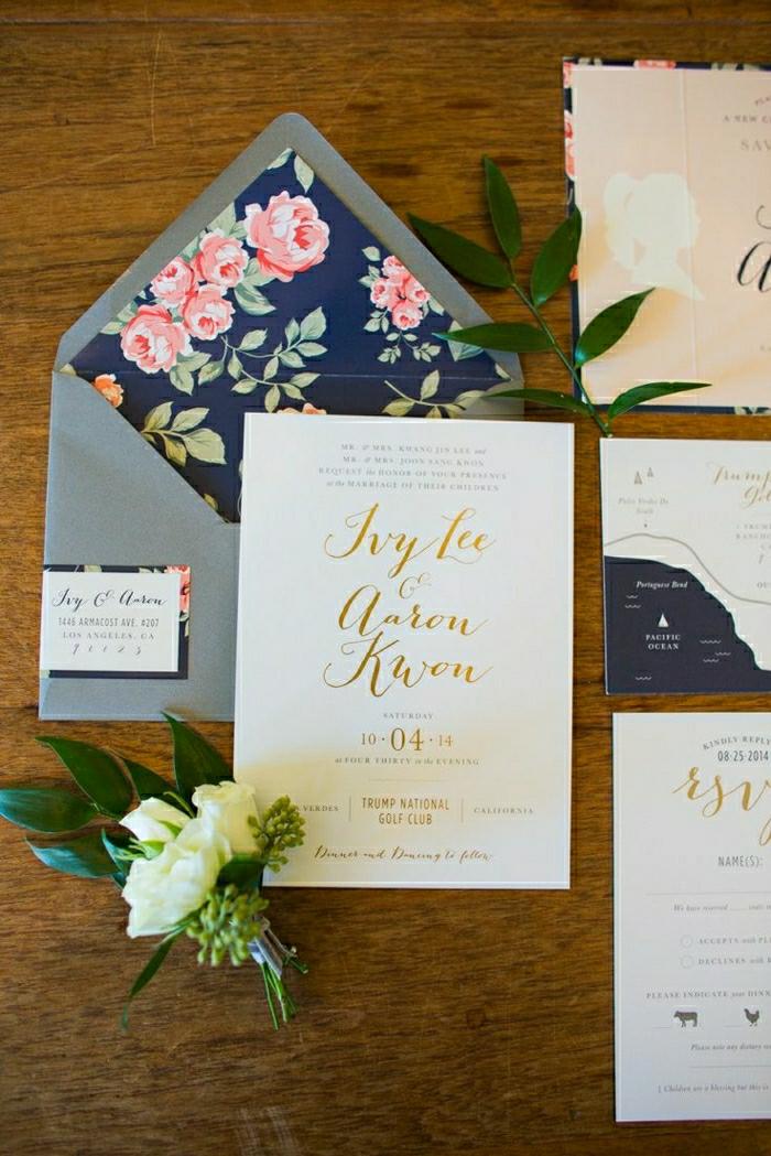 einladungskarten-hochzeit-verschiedene-Muster-elegant-fein-exquisit-schönes-Design-Blumen
