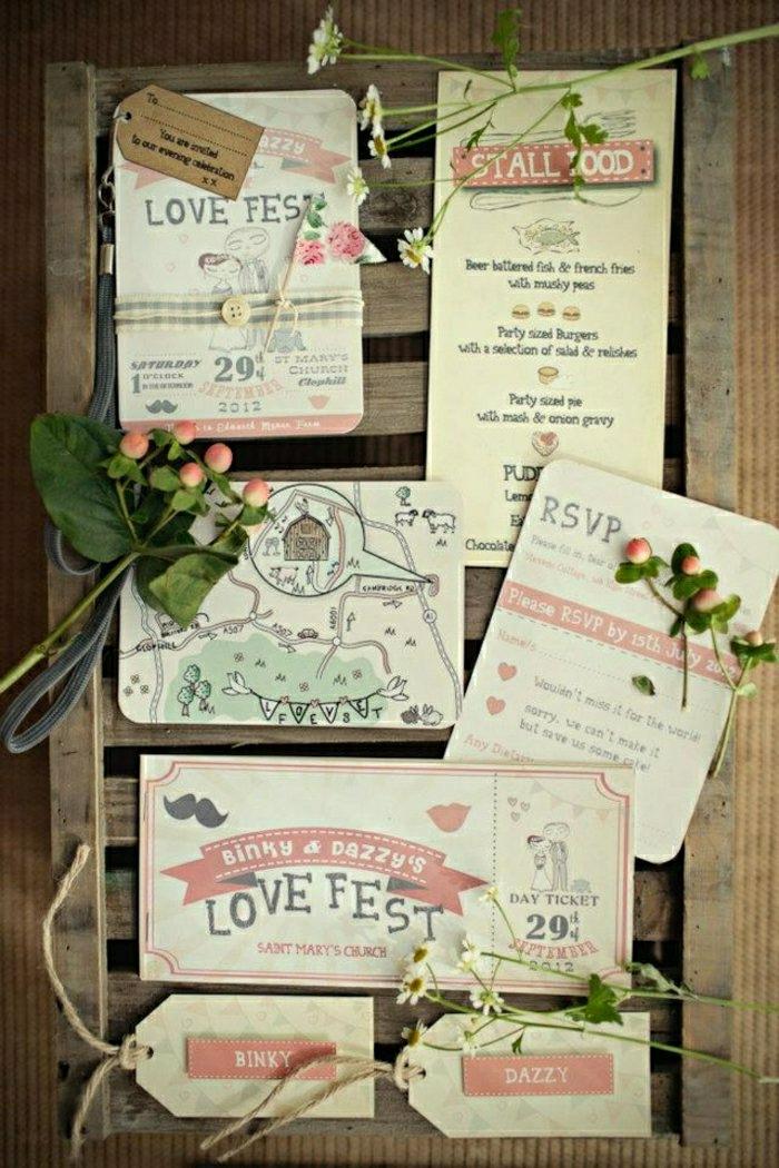 einladungskarten-selbst-gestalten-Love-Fest-Thema-originell-kreativ