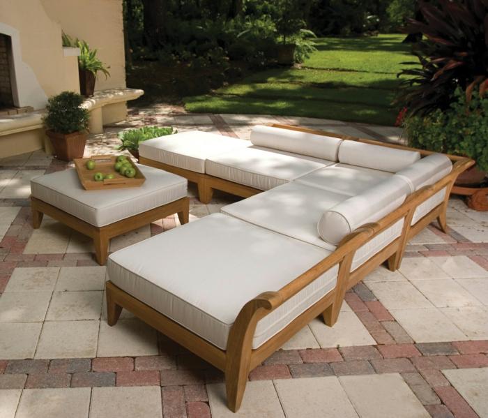 elegante-Möbel-rustikaler-Stil-Garten-Äpfel