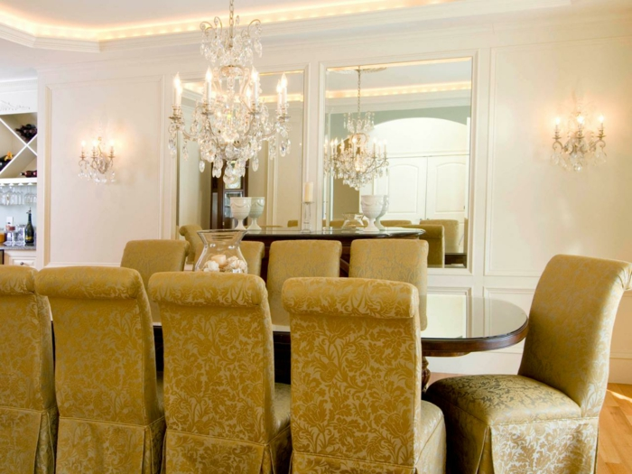 dekor farbe esszimmer. Black Bedroom Furniture Sets. Home Design Ideas