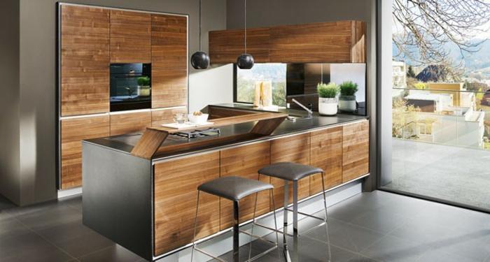 farbe-gold-in-der-einrichtung-interessante-schöne-küche