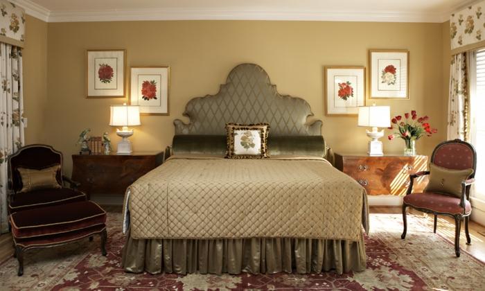 farbe gold einrichtung reihenhaus modern dekoration und