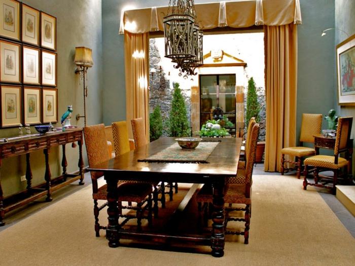 Esszimmer Gestalten Farbe U003e Ein Schönes Esszimmer Gestalten Goldene Farbe