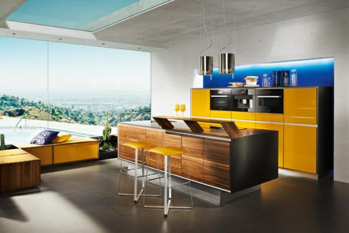 farbe-gold-in-der-einrichtung-sehr-interessante-küche
