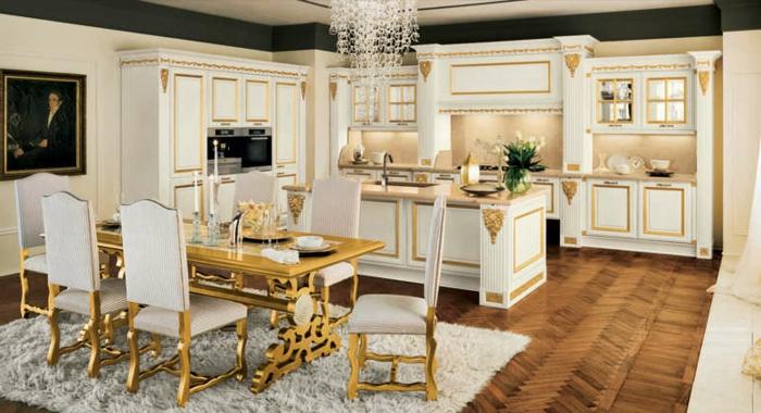 Eine schöne idee für einrichtung die farbe gold
