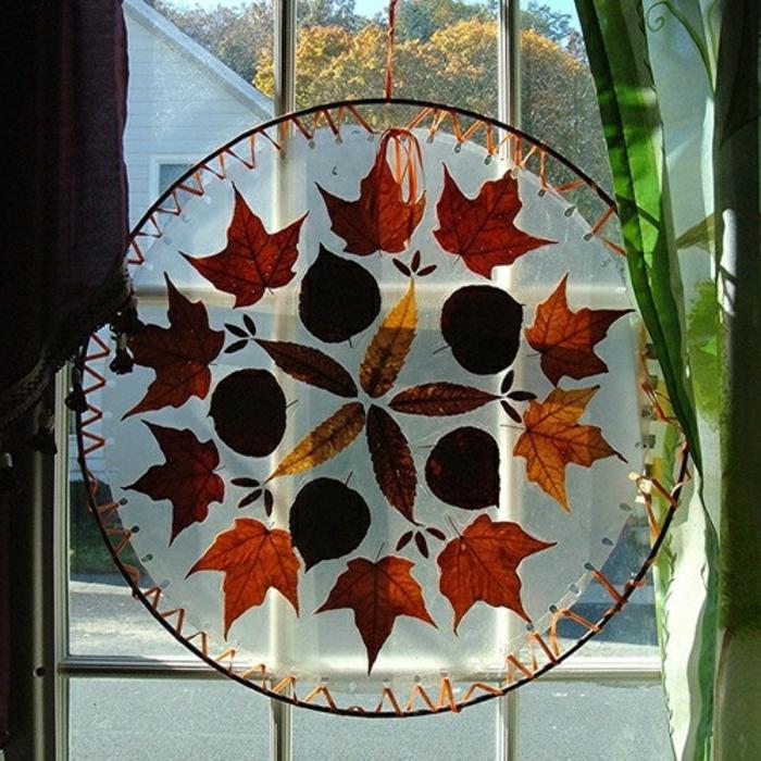 Fensterdeko zum herbst kreative vorschl ge for Herbst dekoartikel
