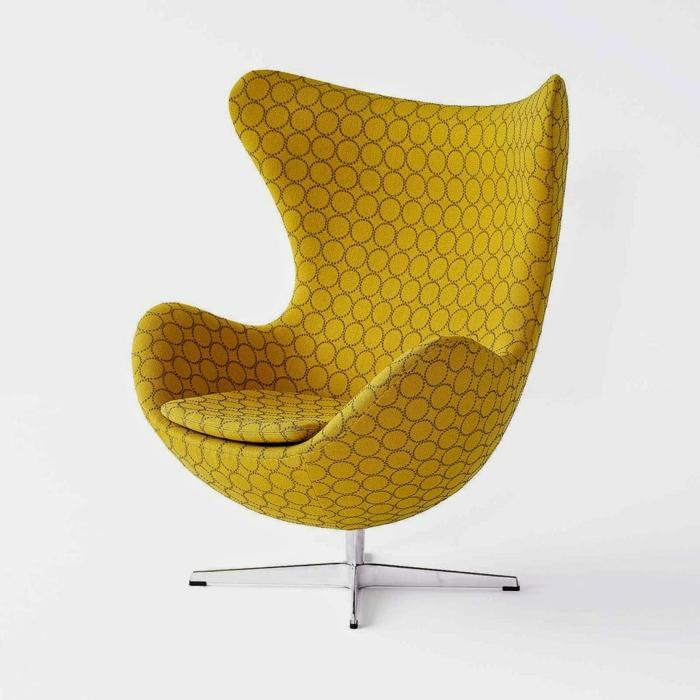 gelber-Sessel-schönes-Modell-bequem-weich