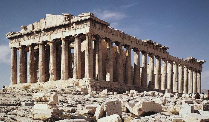 Warum wird griechische Architektur hoch geschätzt ...
