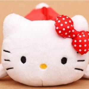 Wir präsentieren Ihnen das Hello Kitty Plüschtier!