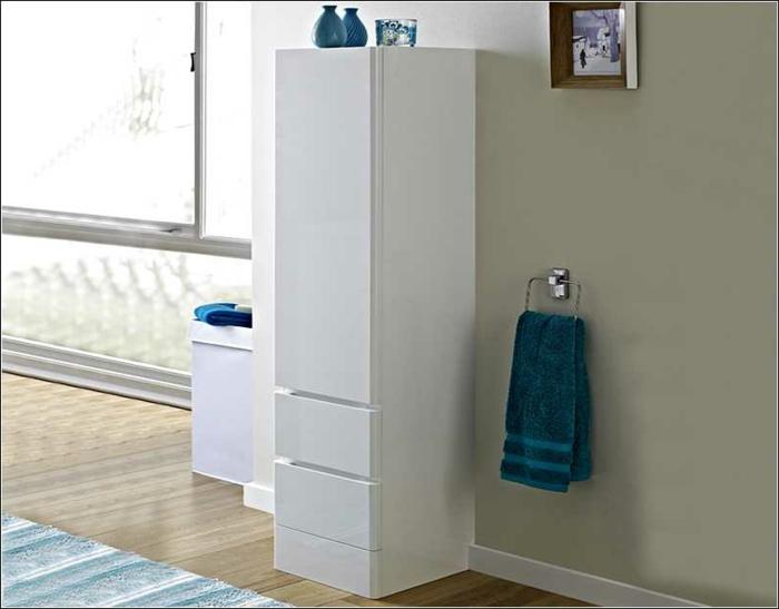 hoch-Wandschrank-für-Badezimmer-weiß