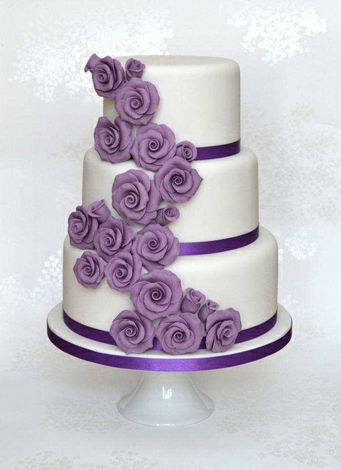 Lila Hochzeitstorte Asktoronto Info