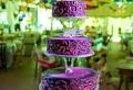 35 Beispiele für Hochzeitstorte in Lila!