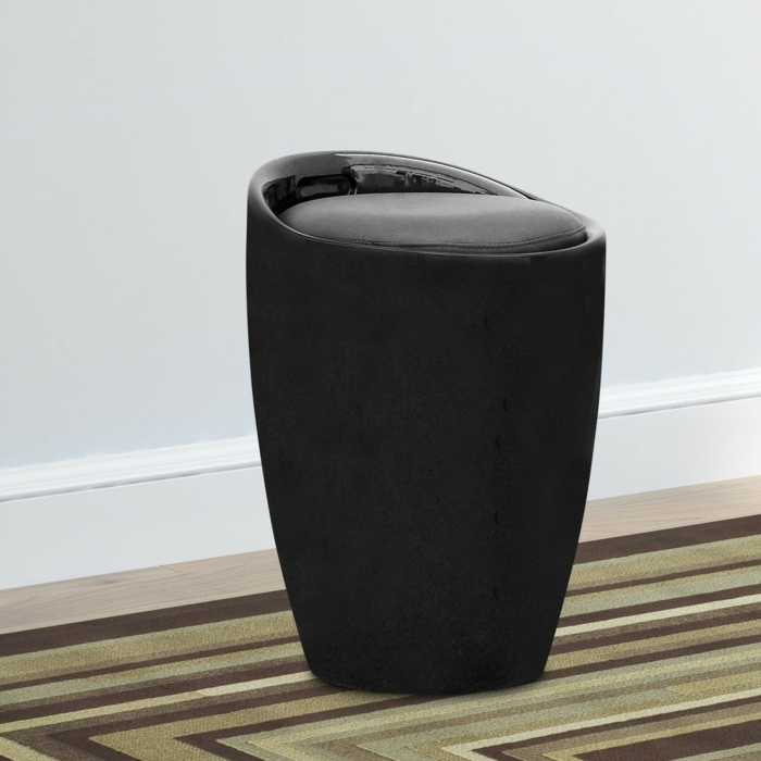 praktische m bel hocker mit stauraum. Black Bedroom Furniture Sets. Home Design Ideas