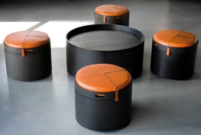 Praktische Möbel: Hocker mit Stauraum - Archzine.net | {Hocker mit stauraum weiß 52}