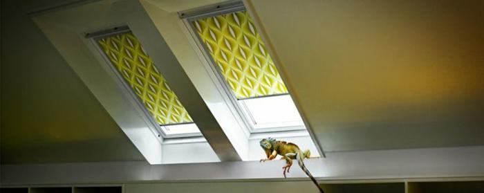 Einige sehr interessante jalousien f r dachfenster for Kleines dachfenster