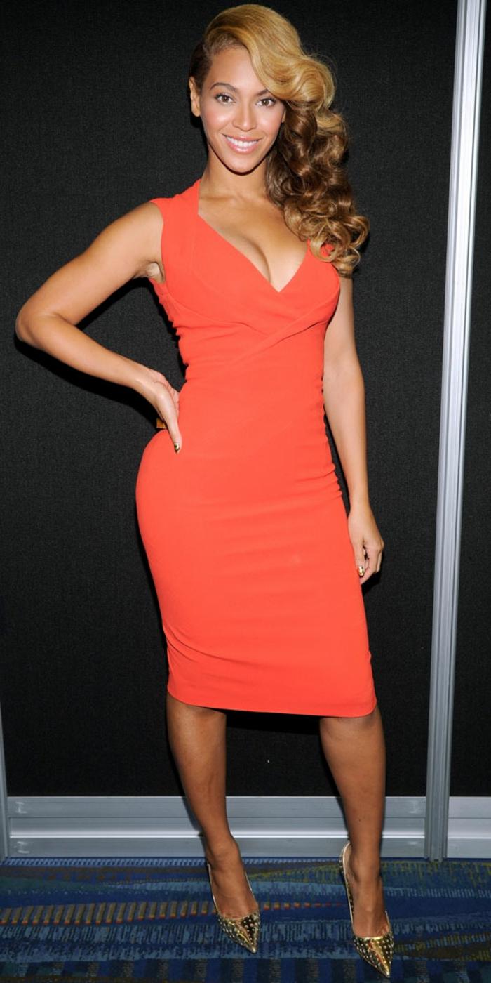 70 attraktive Modelle von Kleid in Orange! - Archzine.net