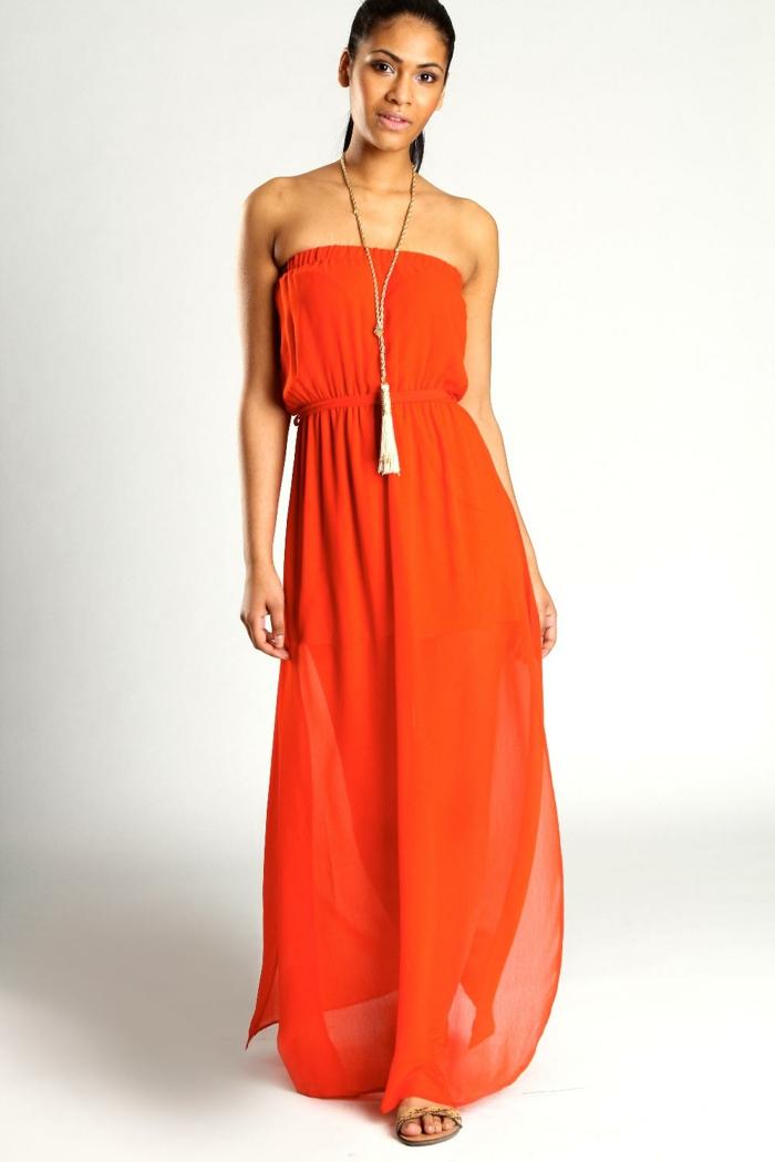 kleid-in-orange-langes-herrliches-modell