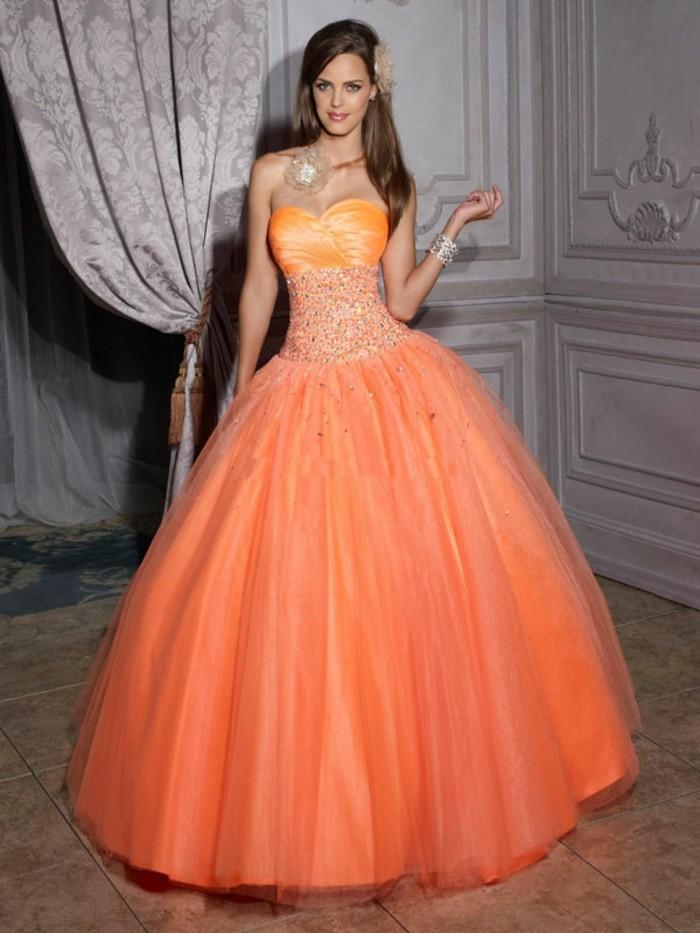 70 attraktive Modelle von Kleid in Orange!