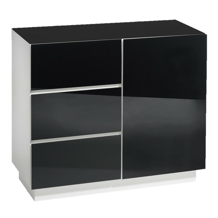 kommode-in-schwarz-glänzendes-modell