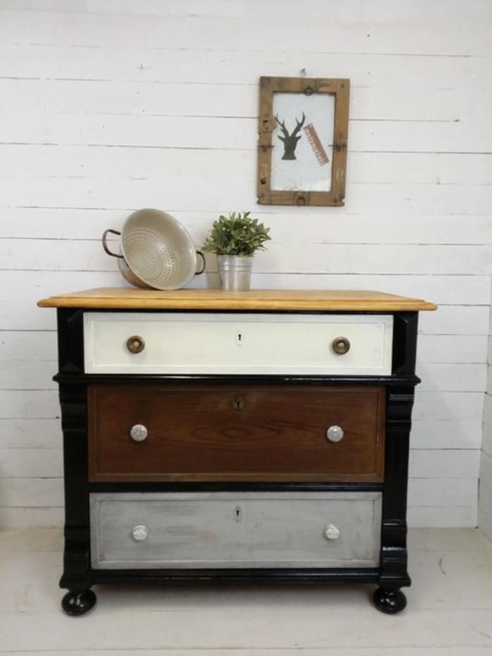 kommode rund schwarz solido kommode walnuss und schwarz. Black Bedroom Furniture Sets. Home Design Ideas