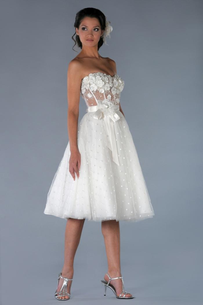 Kurze Hochzeitskleider Erscheinen Super Schick