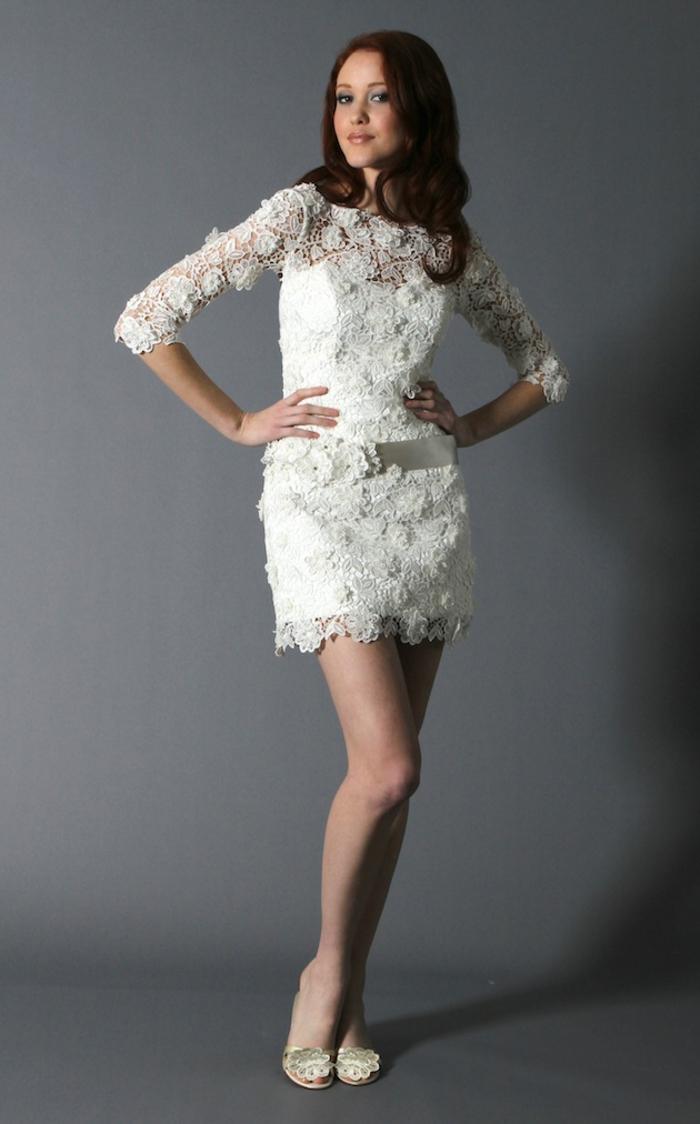 kurze-hochzeitskleider-weißes-interessantes-modell
