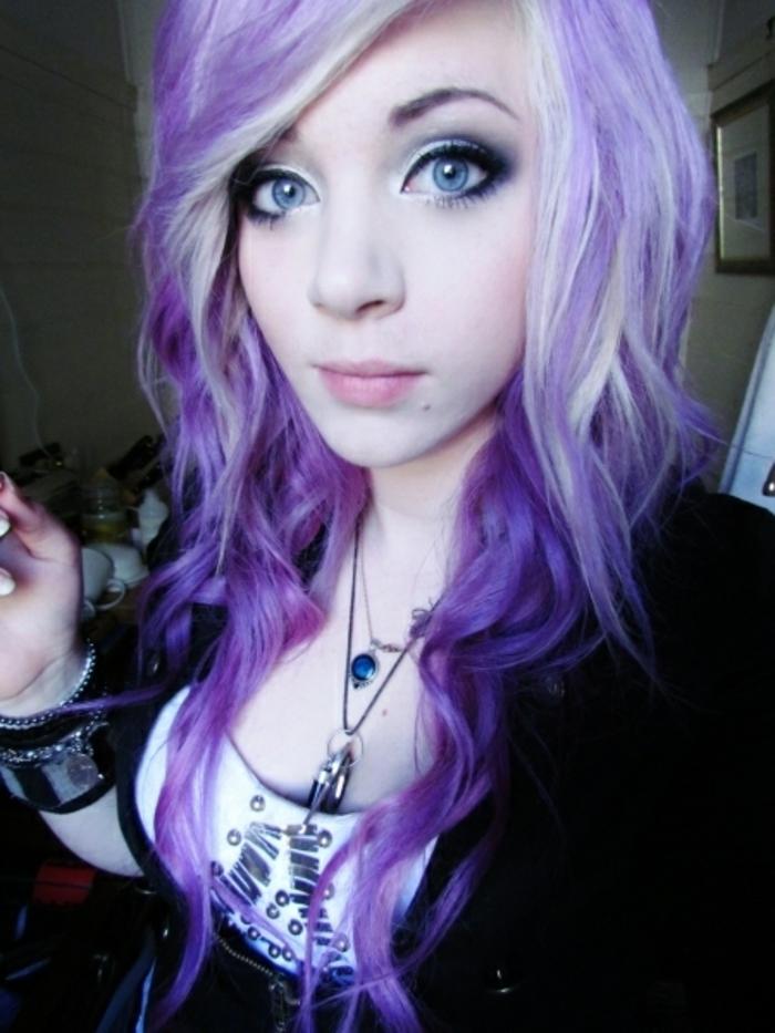 lila-haarfarbe-super-kreatives-aussehen