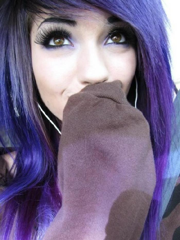 lila-haarfarbe-super-kreatives-foto