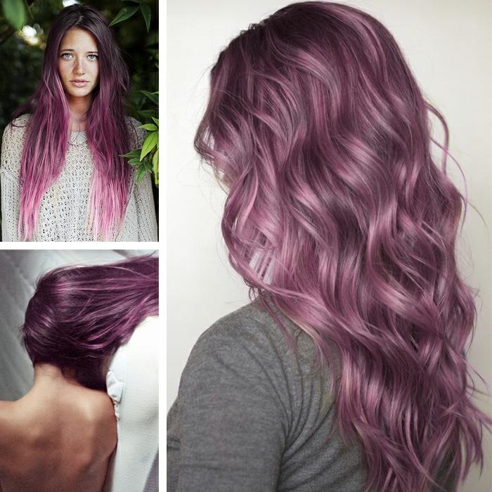 lila-haarfarbe-wunderschöne-locken