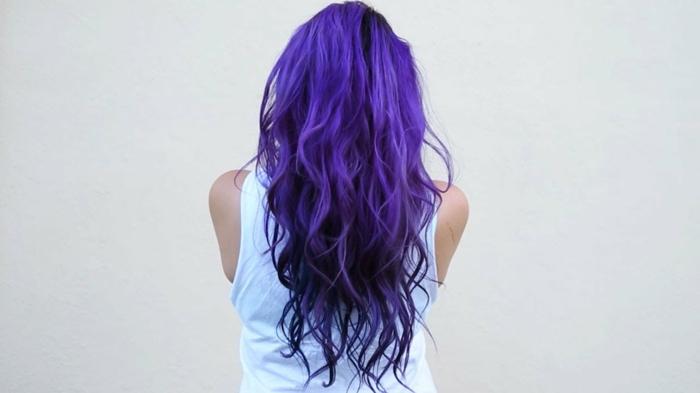 lila-haarfarbe-wunderschöner-look