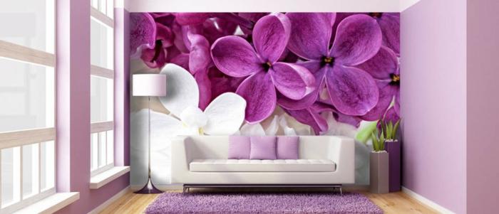 Wohnzimmer Tapeten Gestaltung : tapeten im wohnzimmer – sehr sch?ne gestaltung