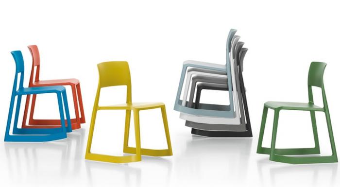 moderne-Stühle-Büro-interessantes-Modell-verschiedene-Farben