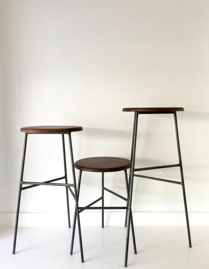 Bar stool modern barhocker other metro von ventura moderne barhocker k chen design 19 ideen - Barhocker modern ...