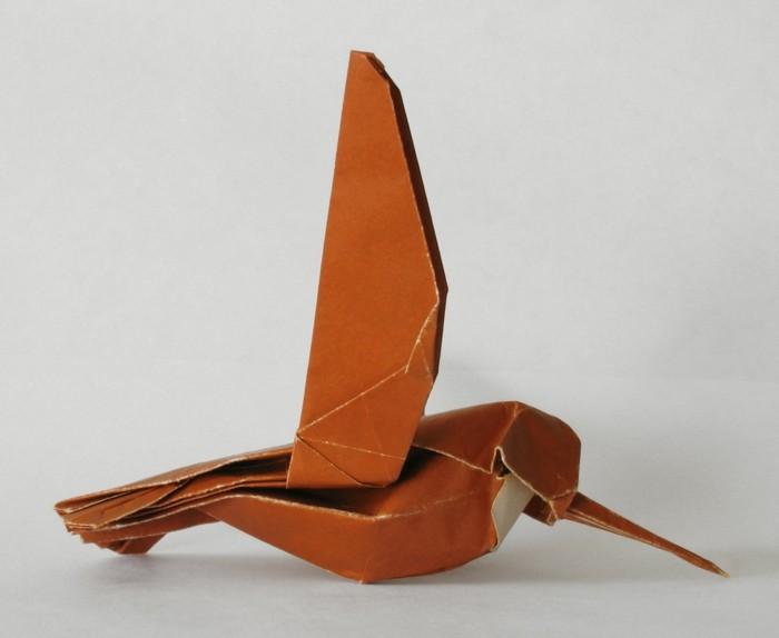 origami-tiere-ein-kleiner-vogel