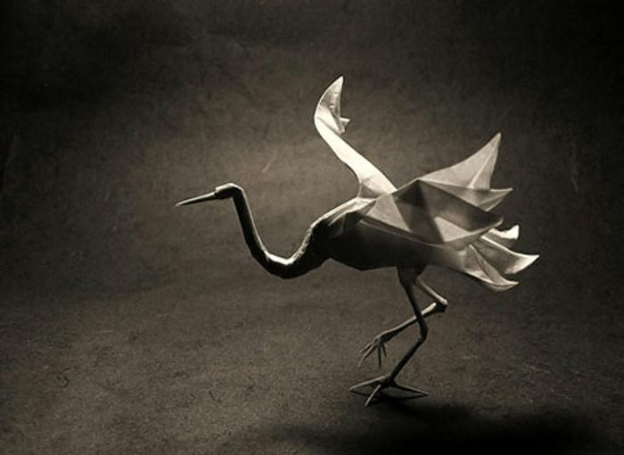 origami-tiere-kranich - wunderschönes modell