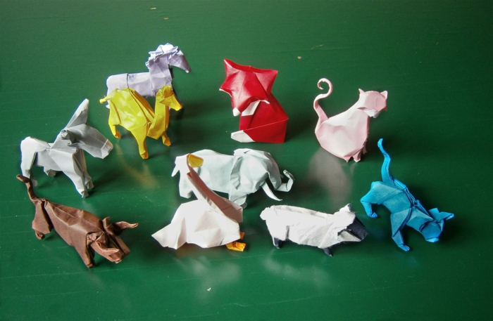 origami-tiere-süße-bunte-kollektion