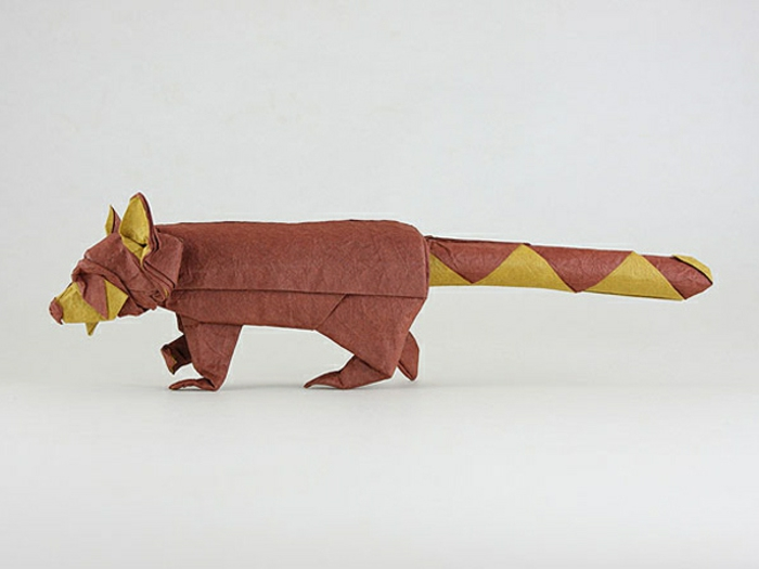 Origami Tiere: 63 sehr tolle Modelle! - Archzine.net