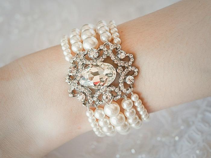 perlen schmuck -armband-kreatives-aussehen