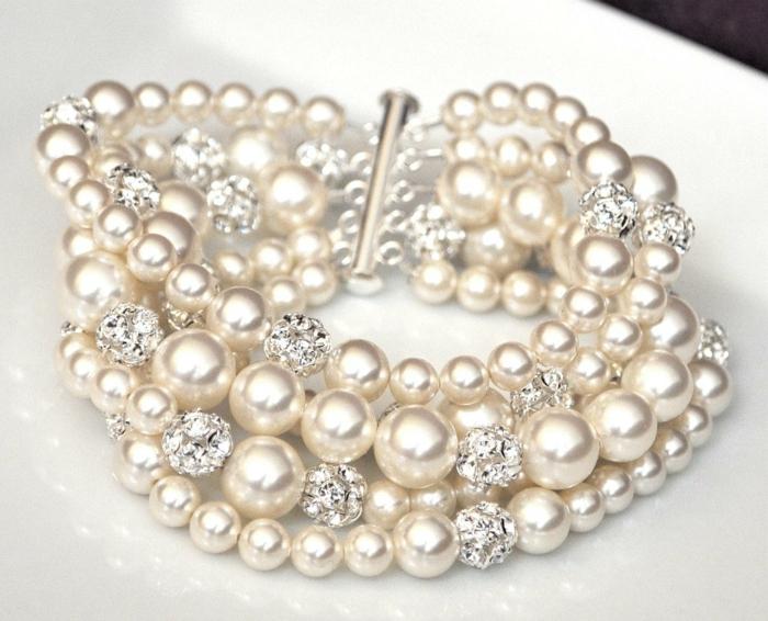 perlen schmuck-armband-sehr-schönes-modell