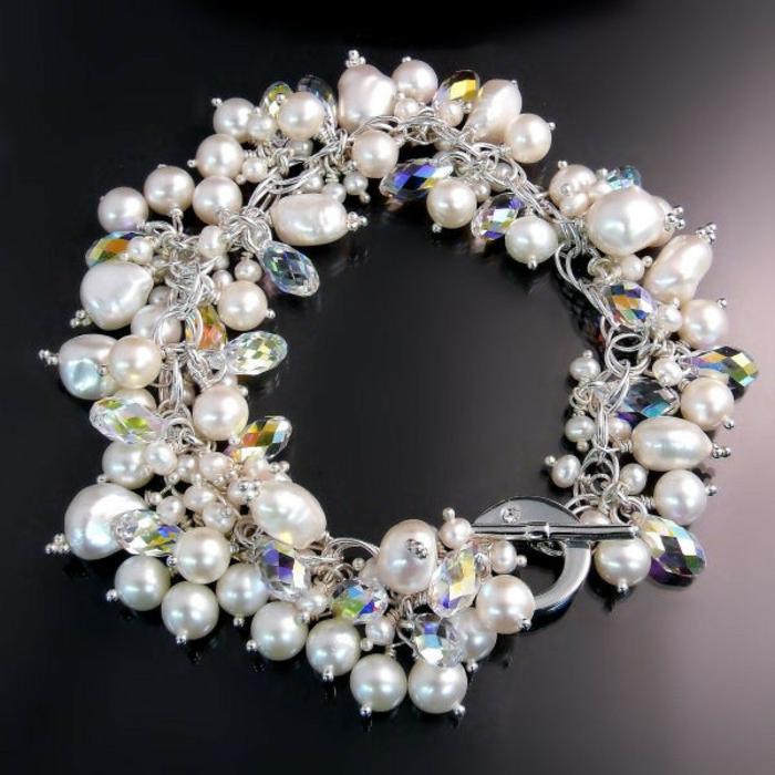perlen schmuck-eleganter-armband-super-aussehen