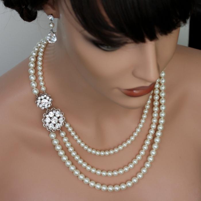 perlen schmuck-wunderschöne-dame