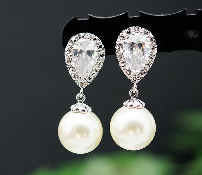 perlen schmuck -wunderschöne-ohrringe