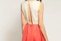 Ein rückenfreies Kleid zieht alle Blicke an!