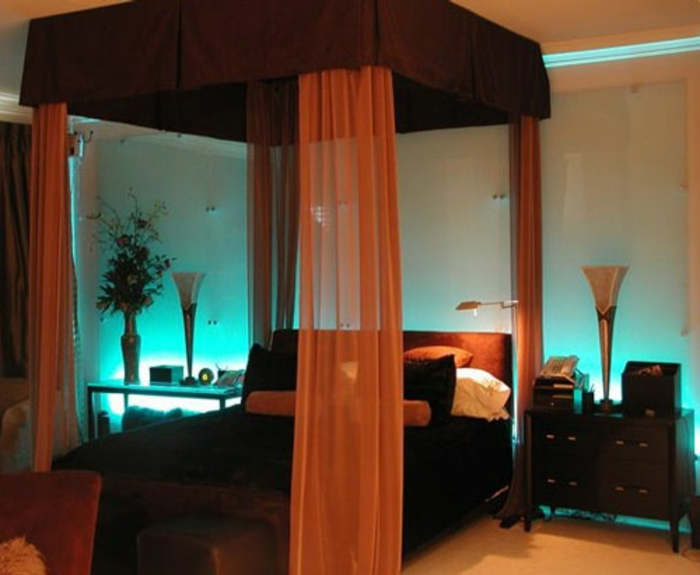 romantisches bett gestalten 25 ideen. Black Bedroom Furniture Sets. Home Design Ideas