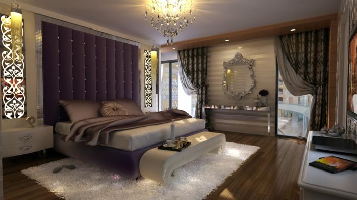 romantisches-bett-luxuriöses-schlafzimmer